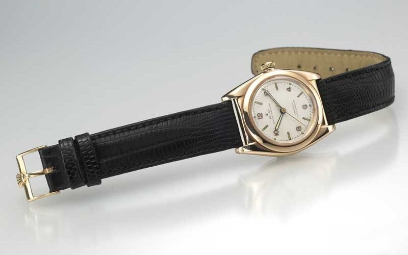 Pink Gold Rolex Watch