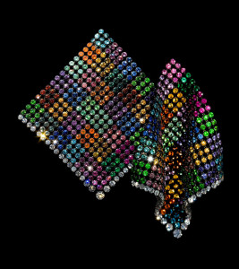 11. Multicolored Handkerchief Earrings 2011_JAR