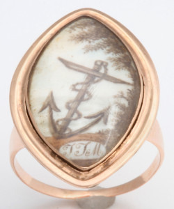 Memorial Ring at Glorious Antique Jewelry