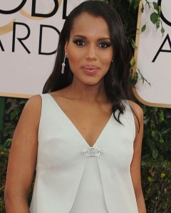 Kerry Washington in Fred Leighton