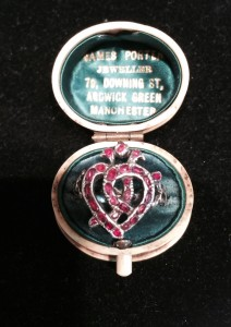 Witch's Heart Ring at Lowther Antiques