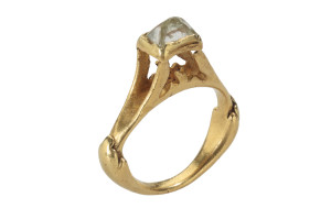De-Clercq-Roman-Diamond-Ring.-Roman-Empire-3rd-4th-century