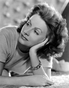 Greta Garbo in Verdura's Curb Link Watch