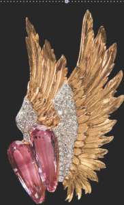 Joan Fontaine's Winged Brooch