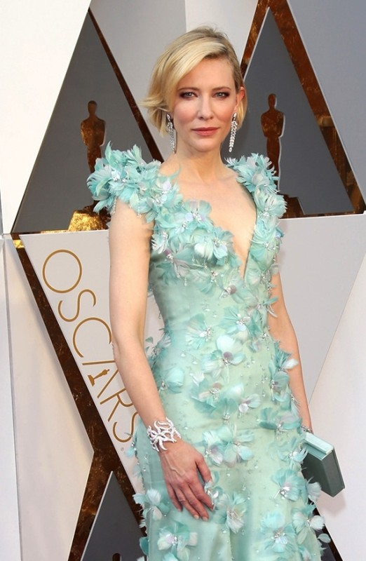 Cate Blanchett in Tiffany & Co diamond jewels