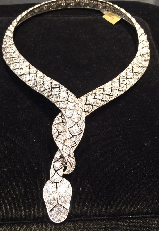 serpentini necklace