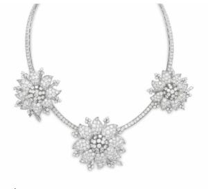 van cleef and arpels clip necklace